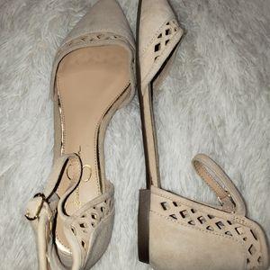 Jessica Simpson Ballet Flats Size 9 1/2 Leather